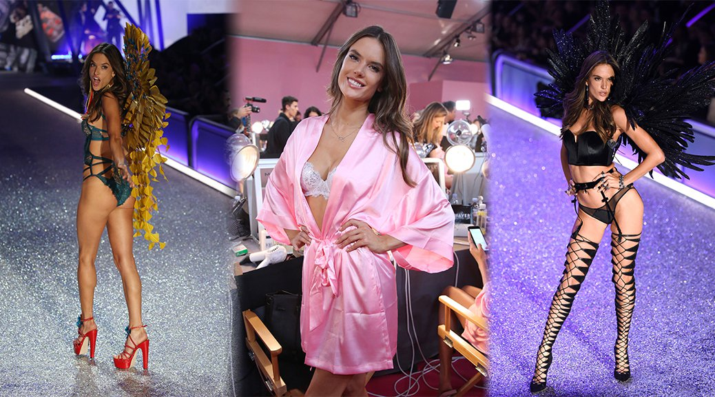 Alessandra Ambrosio - 2016 Victoria's Secret Fashion Show in Paris