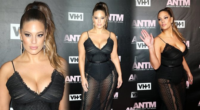 "Ashley Graham – ""America's Next Top Model"" Premiere Party"