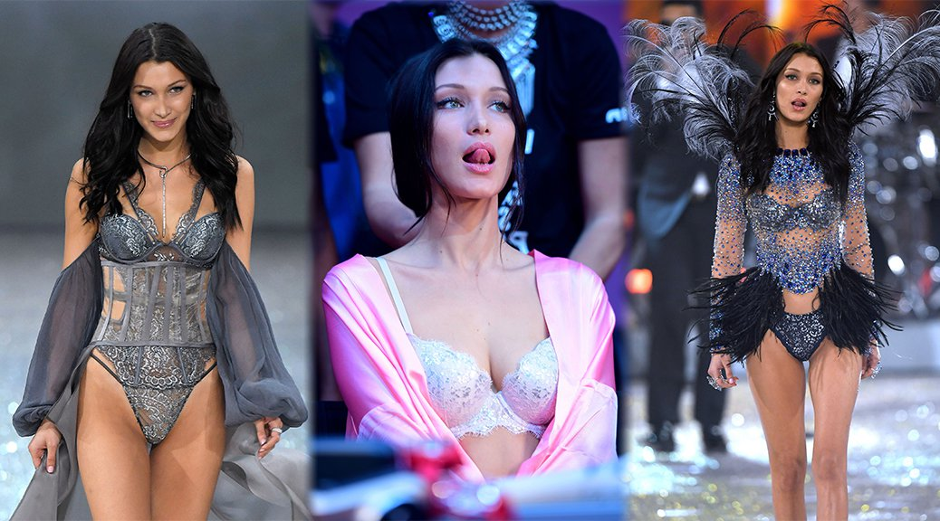 Bella Hadid - 2016 Victoria's Secret Fashion Show in Paris