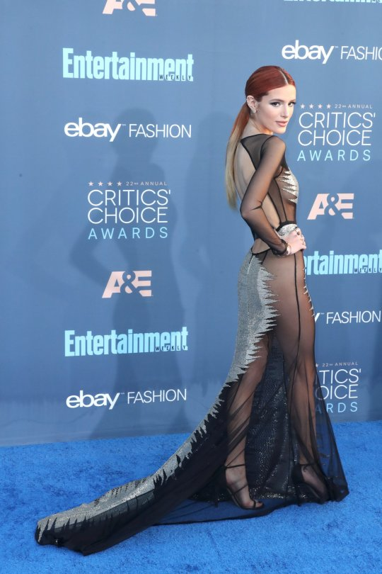 Bella Thorne - 22nd Annual Critics' Choice Awards in Santa Monica