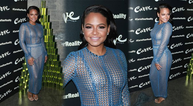 Christina Milian – #CurveYourReality Launch Event in New York