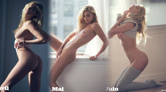Elsa Hosk –  LUI Magazine Naked Photoshoot (December 2016)