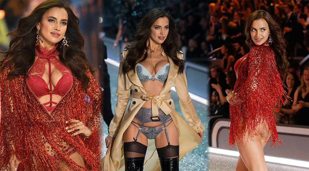 Irina Shayk - 2016 Victoria's Secret Fashion Show in Paris