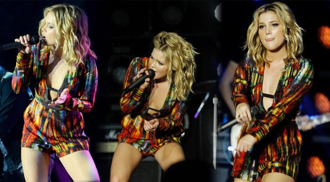 Olivia Holt – Performs Live in Sao Paulo