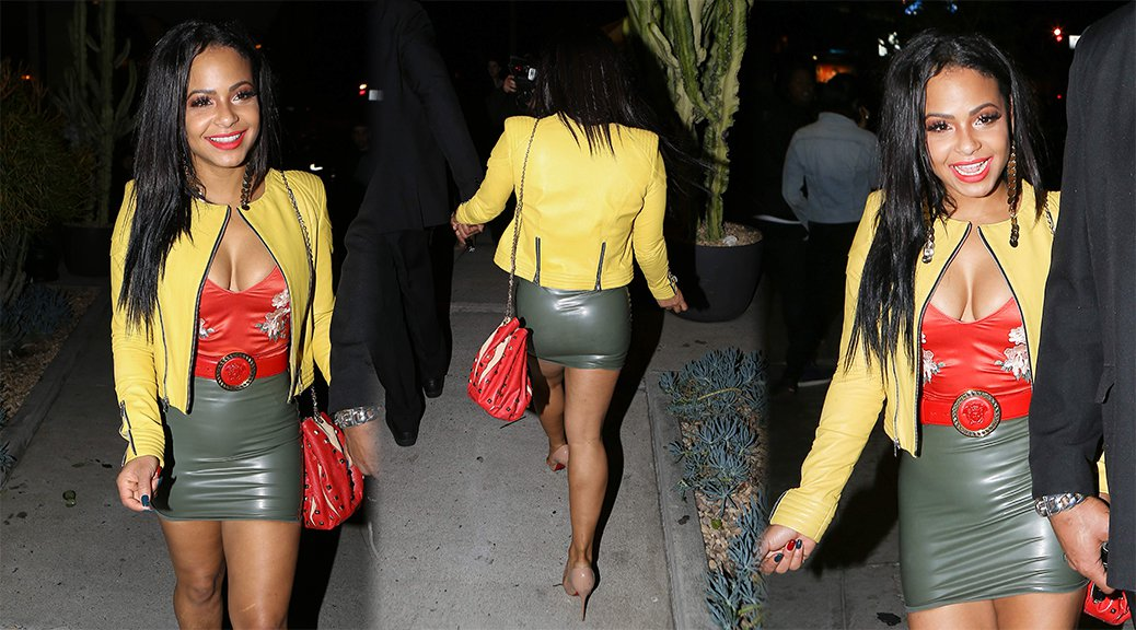 Christina Milian - Candids in West Hollywood
