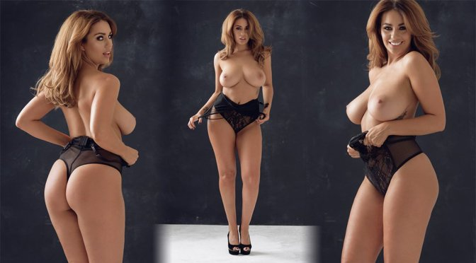 Holly Peers – Page 3 Topless Photoshoot