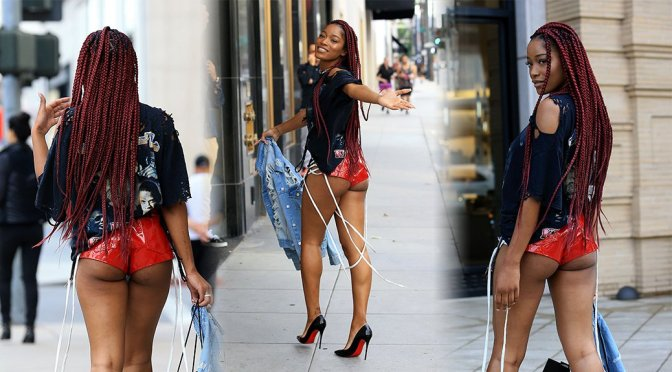Keke Palmer – Candids in Los Angeles