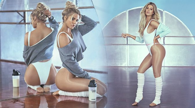 Khloe Kardashian – Protein World 2017 Campaign Photoshoot