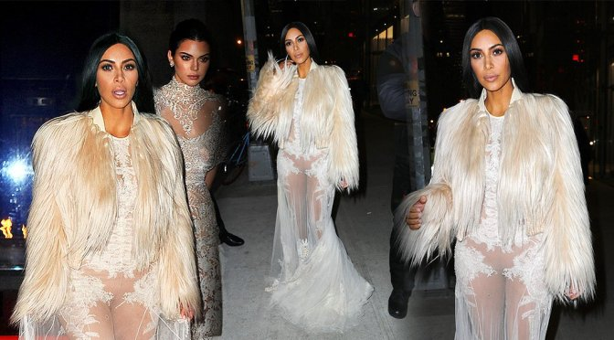 "Kim Kardashian – ""Ocean's Eight!"" Movie Set in New York"