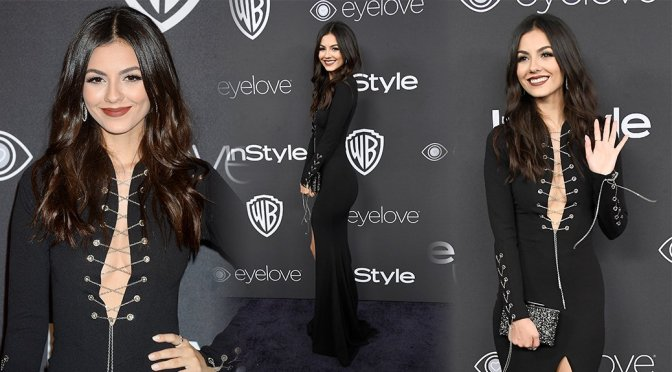 Victoria Justice – Warner Bros. Pictures & InStyle's 18th Annual Post-Golden Globes Party