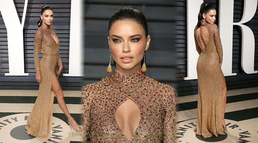Adriana Lima - 2017 Vanity Fair Oscar Party in Beverly Hills