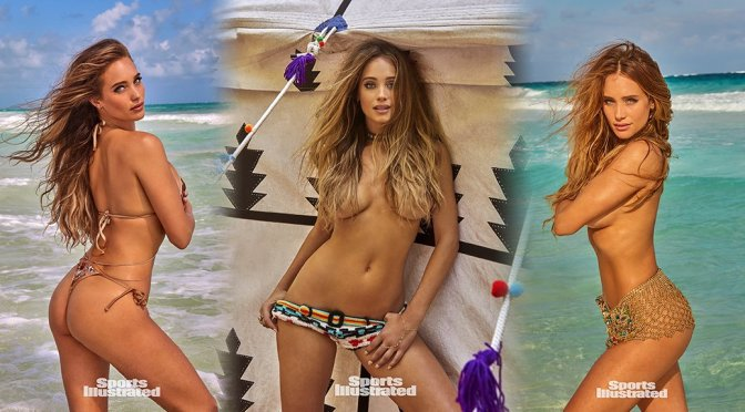 Hannah Davis – Sports Illustrated Swimsuit Issue 2017