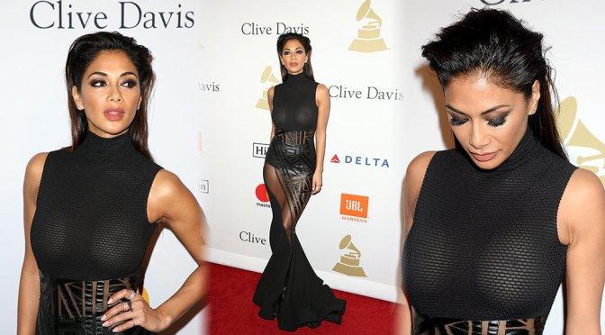 Nicole Scherzinger – Pre-GRAMMY Gala in Beverly Hills