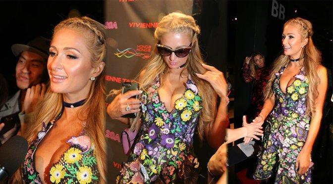 Paris Hilton – Vivienne Tam Fashion Show in New York