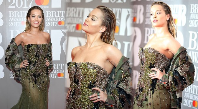 Rita Ora – The Brit Awards in London