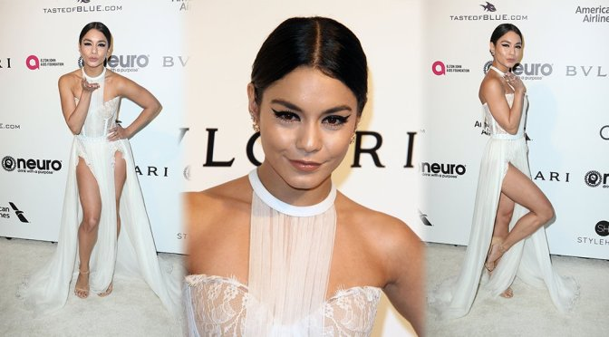 Vanessa Hudgens – Elton John AIDS Foundation's Oscars Viewing Party