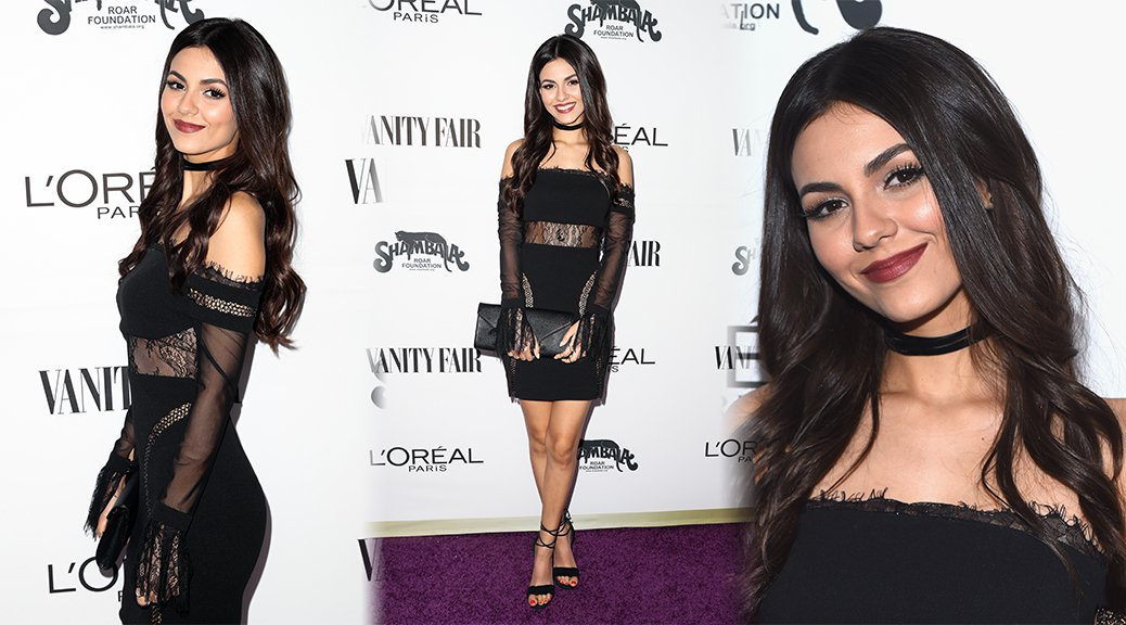 Victoria Justice - Vanity Fair and L'Oreal Paris Toast to Young Hollywood
