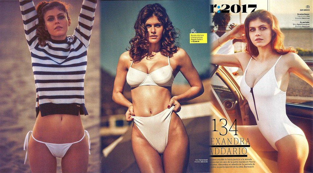 Alexandra Daddario - GQ Mexico Magazine (April 2017) (LQ)