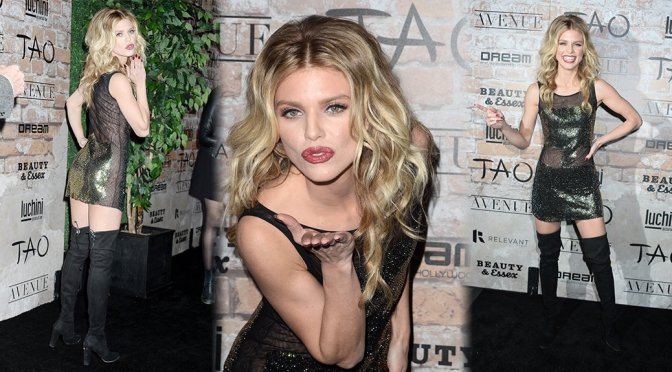 AnnaLynne McCord – TAO Group LA Grand Opening Block Party in Hollywood