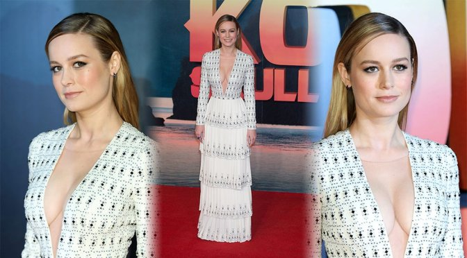 "Brie Larson – ""Kong: Skull Island"" Premiere in London"