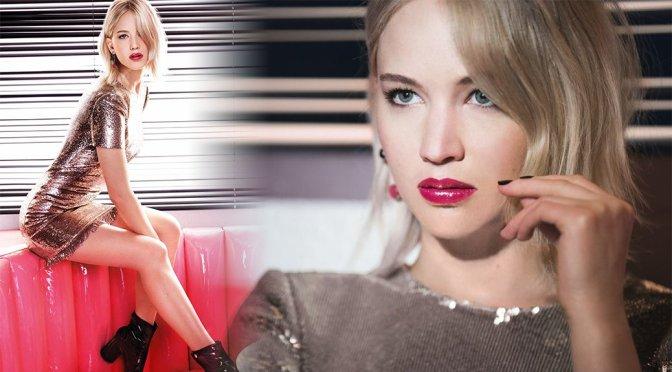Jennifer Lawrence – Dior Addict Lacuer Stick Photoshoot