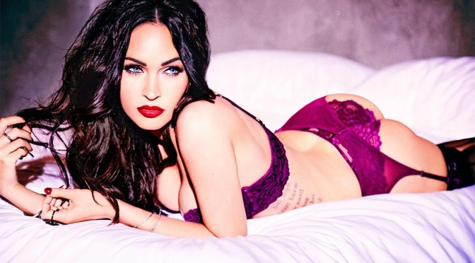 Megan Fox – V Magazine Lingerie Photoshoot