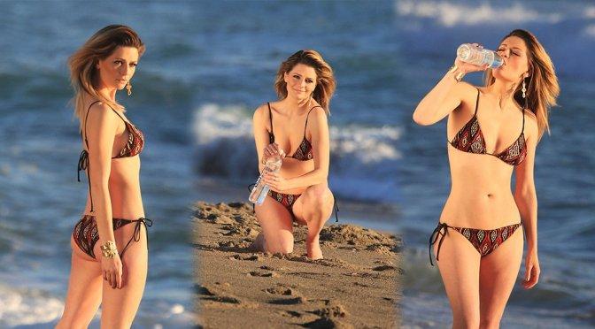 "Mischa Barton – ""138 Water"" Bikini Photoshoot in Huntington Beach"