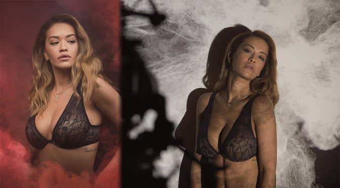"Rita Ora – ""Tezenis"" Lingerie Photoshoot"