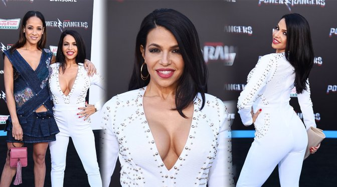 "Vida Guerra – ""Power Rangers"" Premiere in Los Angeles"