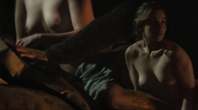 "Emilia Clarke – ""Voice From the Stone"" Topless Movie Caps (NSFW)"