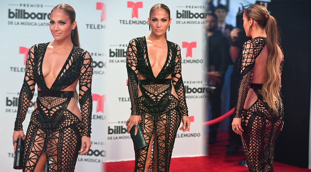 Jennifer Lopez - 2017 Latin Billboard Awards in Miami