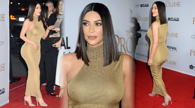 "Kim Kardashian – ""The Promise"" Premiere in Los Angeles"