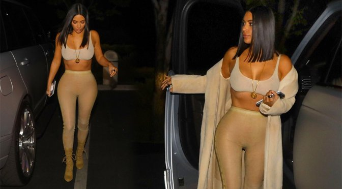 Kim Kardashian – Candids in Los Angeles
