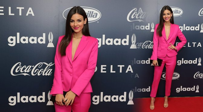 Victoria Justice – Inaugural GLAAD Rising Stars Luncheon in Beverly Hills