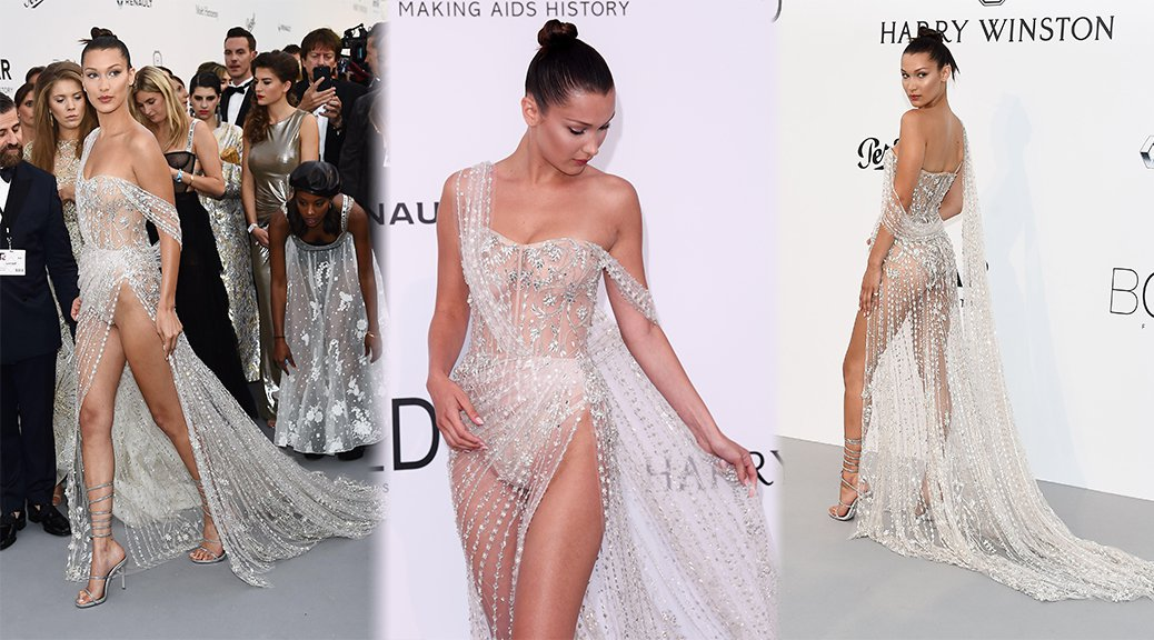 Bella Hadid - amfAR's 24th Cinema Against AIDS Gala in Cannes