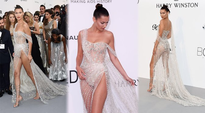 Bella Hadid – amfAR's 24th Cinema Against AIDS Gala in Cannes