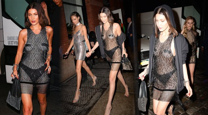 Bella Hadid – Met Gala 2017 After Party in New York