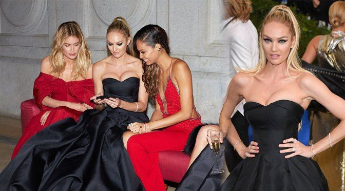 Candice Swanepoel – 2017 MET Costume Institute Gala in New York