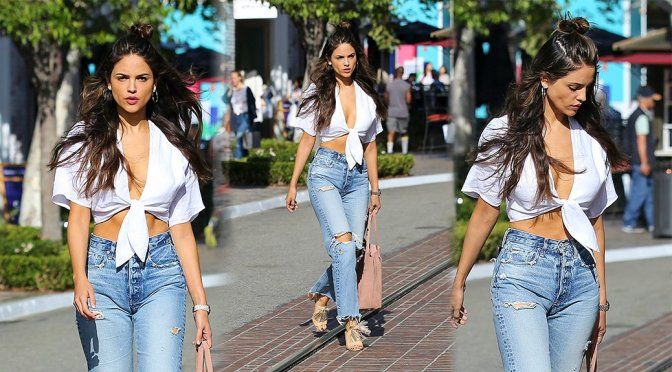 Eiza Gonzalez - Shopping at The Grove in LA