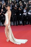 Emily Ratajkowski sexy in revealing dress at opening Ceremony Of The 70th Cannes Film Festival