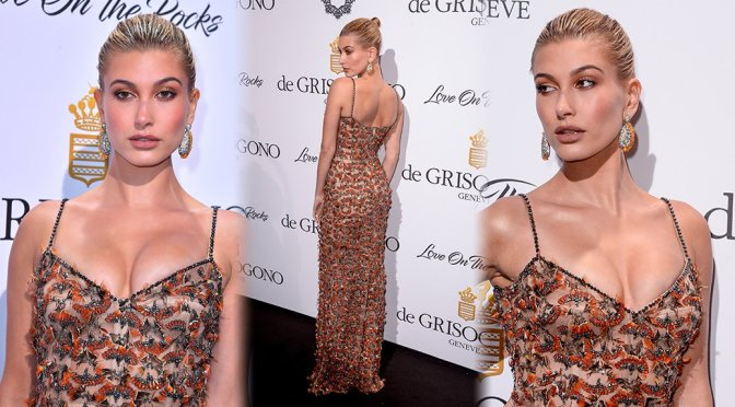 Hailey Baldwin – De Grisogono Party in Cannes