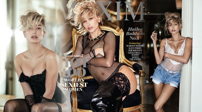 Hailey Baldwin – Maxim Magazine Photoshoot (June/July 2017)