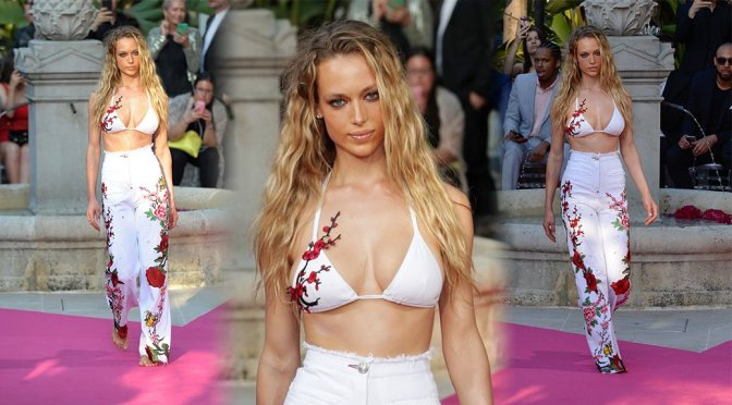 Hannah Ferguson – Philipp Plein Resort Collection Show in Cannes