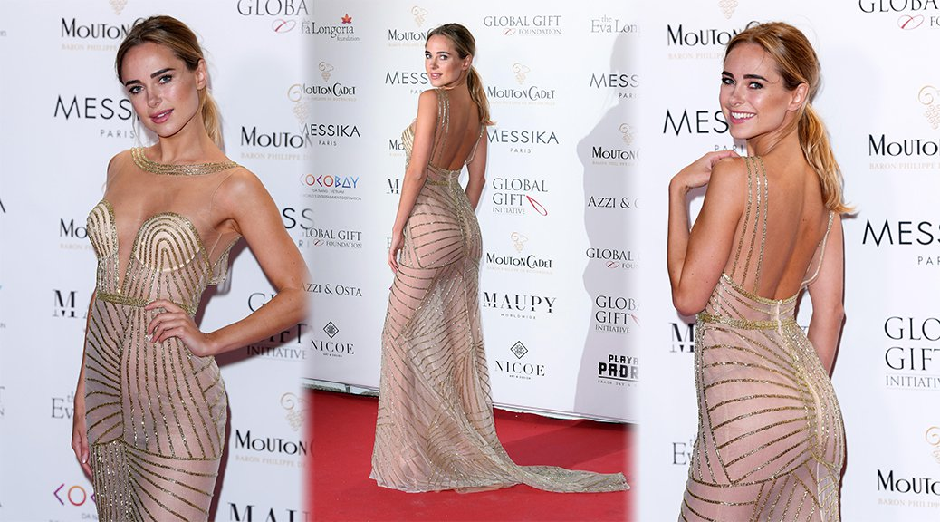 Kimberley Garner - Global Gift Gala in Cannes
