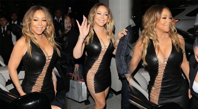 Mariah Carey – Candids in West Hollywood