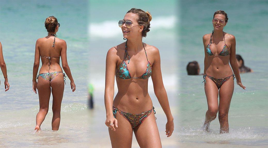 Sandra Kubicka - Bikini Candids in Miami