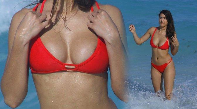 Tao Wickrath – Bikini Candids in Cabo San Lucas