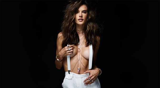 Alessandra Ambrosio – Jacquie Aiche Jewelry Photoshoot