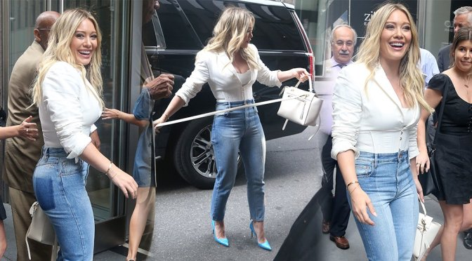 Hilary Duff – Candids in New York