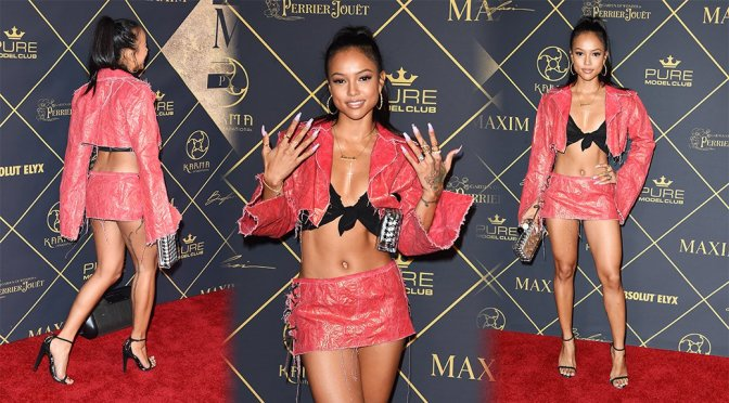 Karrueche Tran – Maxim Hot 100 Event in Hollywood